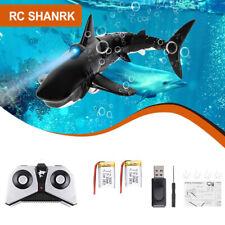 Mini 2.4G 2CH Simulation RC Shark Hai Boot Ferngesteuertes Boat Pool Spielzeug