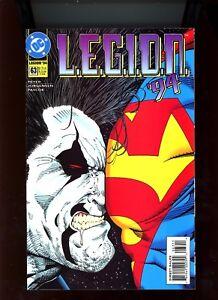 "1994 DC Comics, "" L.E.G.I.O.N. '94 "", # 63, Lobo/Superman on cover, NM, BX56."