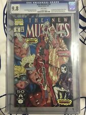 New Mutants #98 CGC 9.8 (1991) 1st Deadpool Wade Wilson Gideon & Copycat Mint