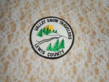 VINTAGE VALLEY SNOW RIDERS LEWIS COUNTY NY SNOWMOBILE CLUB PATCH