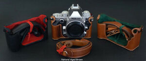 LUIGI HALF CASE for NIKON DF+UPS INCLUDED,DELUXE STRAP is an OPTIONAL,3++ COLORS