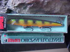 """Rapala 4 3/8"""" Orginal Floating F11 P in PERCH for Bass/Walleye/Trout/Pickerel"""