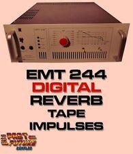 EMT 244 DIGITAL REVERB IMPULSES RECORDED ON TELEFUNKEN M15 ANALOG TAPE RECORDER