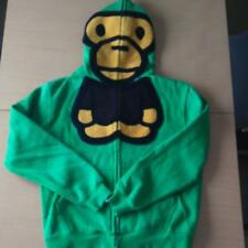 A BATHING APE babymilo Hoodie Green size:M #1