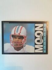 1985 TOPPS FOOTBALL WARREN MOON ROOKIE CARD