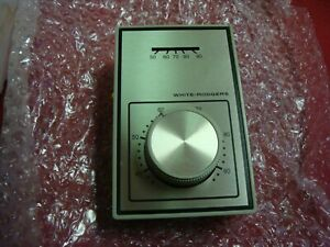 1A10-651 Emerson White-Rodgers Light Duty Line Voltage Heat Cool Thermostat