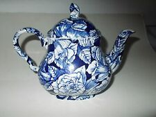 The Georgian Collection Churchill Cobalt Bermuda Blue Teapot