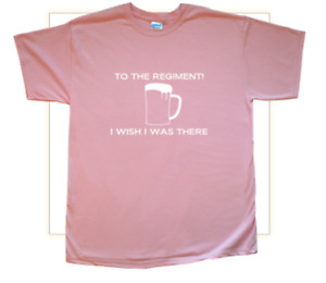 'To the Regiment...' T-Shirt inspired by Early Doors Ladies Light Pink Medium