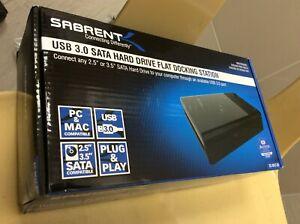 Sabrent USB 3.0 to SATA External Hard Drive  Docking Station EC-DFLT