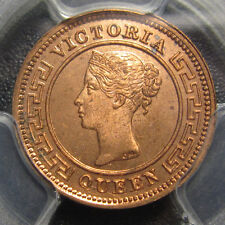 1898 Ceylon 1/4 Cents PCGS MS 65RD Queen Victoria