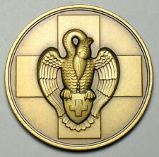 Belgium Red Cross medal for recognition to blood donors eagle 1950's