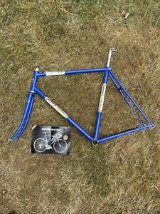 Vtg Gios Torino Super Record Italian Road Bike Frame Campagnolo Post 70s 80s