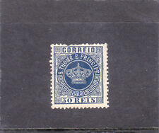 ST. THOMAS CROWN 50 REIS (1881-85) Perf. 12,5  NEW COLOUR    MHNG