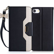 Luxury Magnetic Leather Wallet Card Holder Case Cover for Apple iPhone 7 Plus