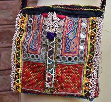 Vintage Banjara kuchi Boho Gypsey Festival hippie Ethnic Mirrorwork Shoulder bag
