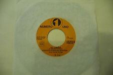 """PREMIATA FORNERIA MARCONI""""VIA LUMIERE-disco 45 giri NR.UNO 1974"""" Ed JB"""