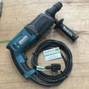 Makita HR2470T 240v SDS+ Rotary Hammer Drill Quick Change Chuck & Handle TESTED
