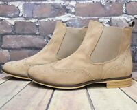 Womens Anna Field Brown Low Heel Pull On Ankle Boots Size UK 6 EUR 39 RRP - £29