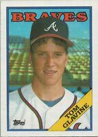 Tom Glavine Rookie Card 1988 Topps Baseball #779 Atlanta Braves HOF