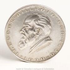 1929 Two Schilling Coin Theodor Billroth Republik Oesterreich 2 Austrian Austria