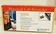 Personal Call Recorder Usb-Pc Digital Loggers New In Box