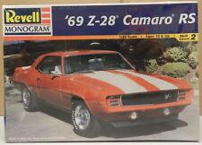 1969 69 CHEVY CAMARO SS STOCK Z28 Z 28 RS MONOGRAM REVELL MODEL KIT