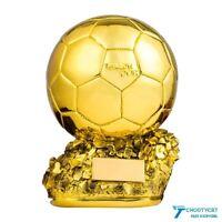 Ballon D'OR Award Trophy Sculpture Craft World Golden Ball Football Soccer Gifts