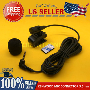 NEW Microphone for KENWOOD DDX393 Car Stereo Radio Handsfree Mic Replacement
