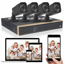 Hd 1080N 4Ch Full 720P Ahd Dvr Recorder Home Security System 4* Outdoor Camera