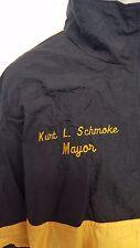Speedo Running Suit Black Yellow vintage, Baltimore Mayor Kurt Schmoke NWT