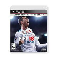 FIFA 18 Legacy Edition (PlayStation 3) BRAND NEW & FACTORY SEALED EA Sports 2018