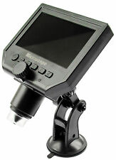 "Portable Digital HD 1080p 3.6MP Video Scope Magnifier Microscope w/4.3"" Screen"