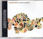 (DX315) Junior Boys, So This Is Goodbye - 2006 DJ CD
