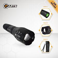 LED Flashlight Zoomable Military Torch Lamp XM-L T6 50000LM LED Flashlight