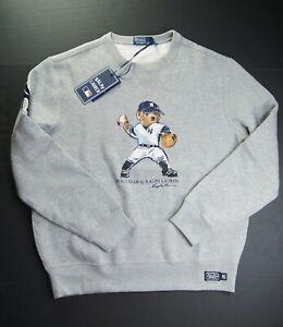 POLO RALPH LAUREN Men's MLB Collection Yankee NY Bear Fleece Sweatshirts sz XL