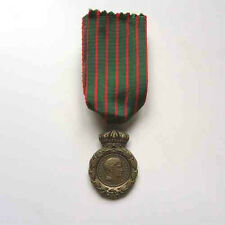 Napoleon médaille de sainte helene reproduction avec ruban
