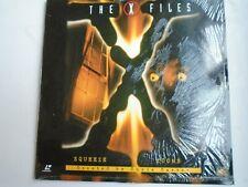THE X FILES 2 episodes Squeeze/Tooms LASERDISC NTSC