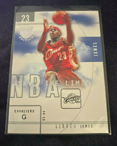 LeBron James 2003-04 2003 Skybox Limited Edition LE Sky's the Limit RC Cavs