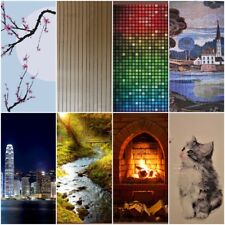 byecold Far Infrared Panel Heater with Standing Feet 300W Energy Saving Electric Heating Panel Wall Mounted Carbon Crystal Ultra Slim IR Panel Heater