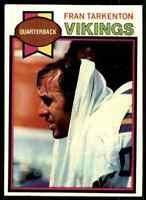 1979 Topps #200 Fran Tarkenton HOF Minnesota Vikings / Georgia Bulldogs