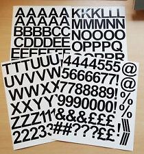 4cm De 1,5 Pulgadas Auto Adhesivo Etiqueta engomada del vinilo letras y números de 40 mm - 25 Colores