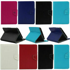 """Universal Leather Folio Stand Case Cover For 9.7"""" 10"""" 10.1"""" iPad Android Tablets"""