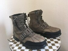 ANDRES RALPH LAREN POLO DISTRESSED VINTAGE URBAN TRAIL BOOTS 11 D