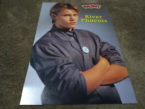 RIVER PHOENIX CENTERFOLD CLIPPING POSTER FROM MAGAZINE 80'S SUPER HOT