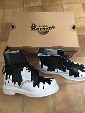 Dr Martens Pascal Paint Splat Limited Edition Boots, Size 4 (EU 37), Brand New