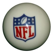 NFL logo billiard pool CUE BALL.