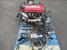 92-95 JDM Honda Civic EG6 B16a Apexi Turbo Engine Apexi Ecu , Os giken clutch EG