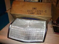 NOS 1973 1974 Ford Torino Left Front Parking Lamp LENS NOS FORD D3OZ-13201-C
