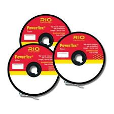 RIO POWERFLEX NYLON TIPPET 3-PACK IN SIZES 3X-4X-5X 30YD SPOOL OF EACH SIZE