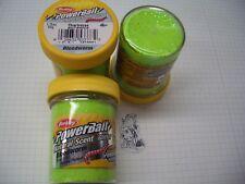 Berkley Power Bait Trout Bait Glitter Chartreuse Blutwurm 3x50g-Glas 100g/6,66€